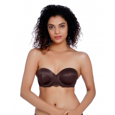 Happy Go Lucky-SATIN MOULDED MULTIWAY BRA