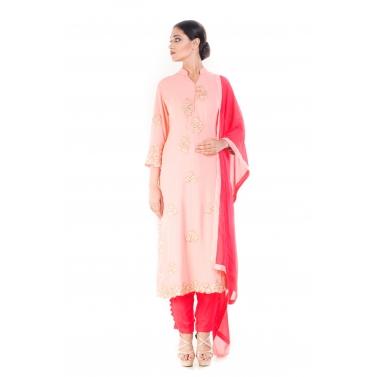 Carnation Pink Salwar Suit