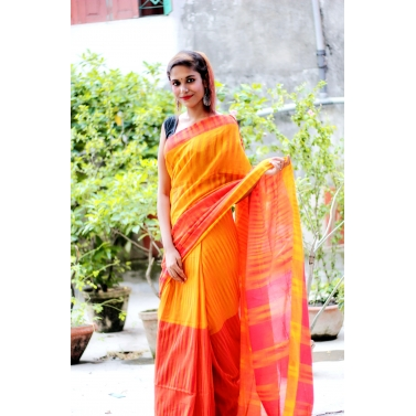 Naomi Handloom Cotton Designer Saree