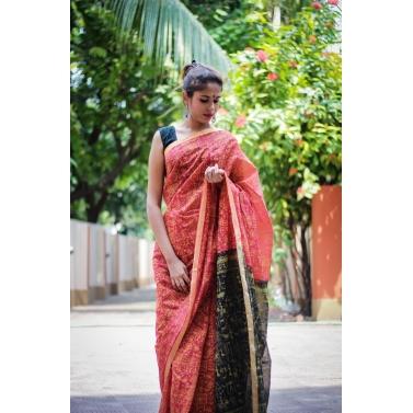 designer-womens-wear/naomi-egyptian-print-handloom-saree