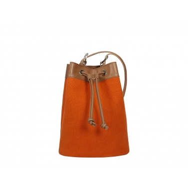 Ormond Bucket Bag - Orange