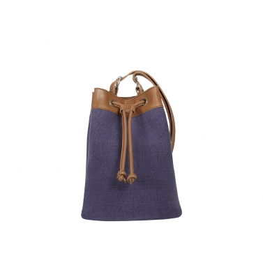 Ormond Bucket Bag - Purple