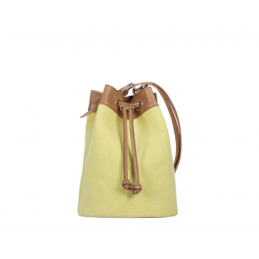Ormond Bucket Bag - Yellow