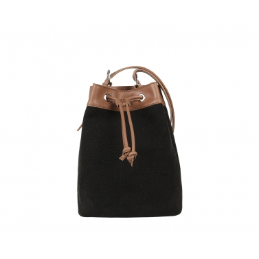 Ormond Bucket Bag - Black