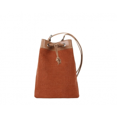 Ormond Bucket Bag - Rust