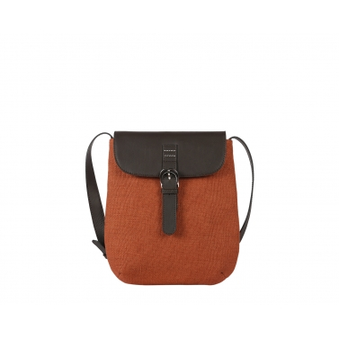 Osier Cross Body - Rust