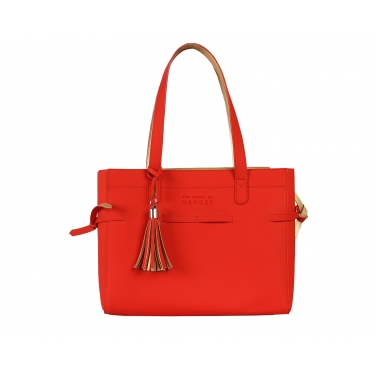 Seymour Tote Bag - Red