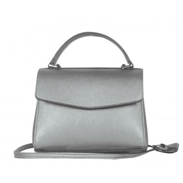 Silver Rees Crossbody Bag
