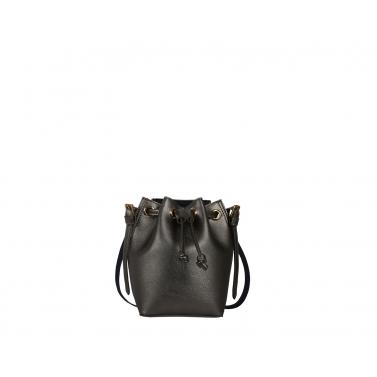 Penny Bucket Bag  - Silver
