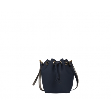 Penny Bucket Bag - Navy