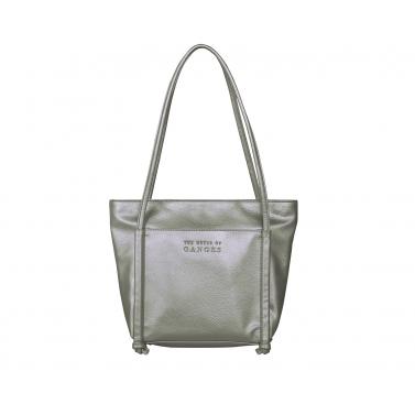 Harper Tote Bag - Metal