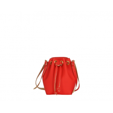 Penny Bucket Bag - Red Gold