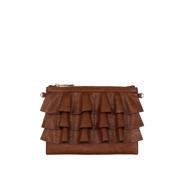 Bruffle Crossbody Bag - Cinnamon
