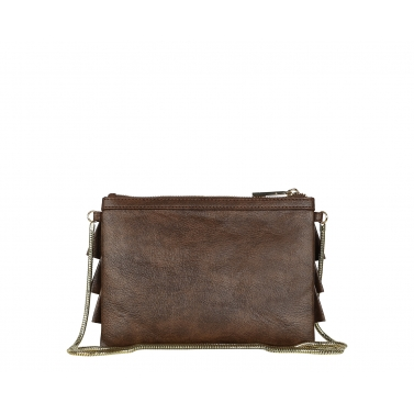 Bruffle Crossbody Bag - Coffee