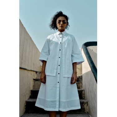 Jacket Dress- white
