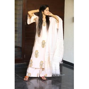 Mughal Butta Suit Set