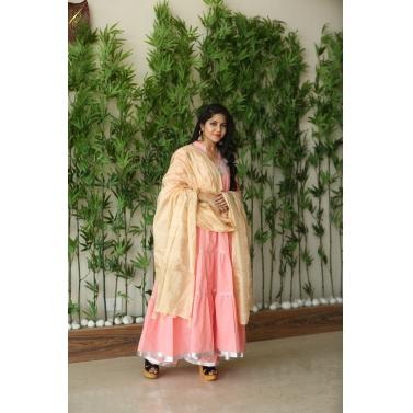 Pink Laces Suit Set