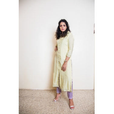 Indowestern Asymmetrical Dress With