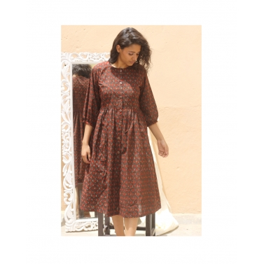 designer-womens-wear/button-up-dress-brown1