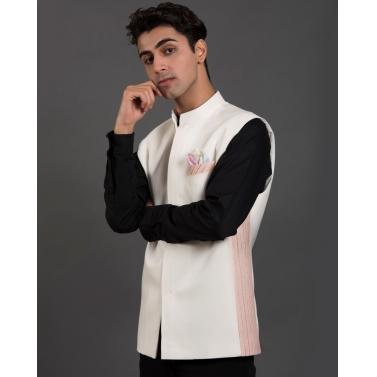 man/modi-jackets/white-and-light-pink-bundi