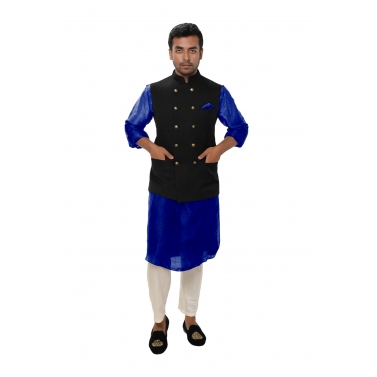 designer-mens-wear/white-kurta-set-paired-with-a-black-double-breasted-jacket1