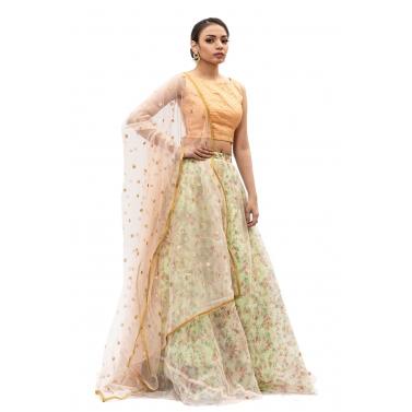 designer-womens-wear/peach-and-light-green-floral-lehanga