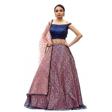 designer-womens-wear/dark-blue-and-pink-lehanga