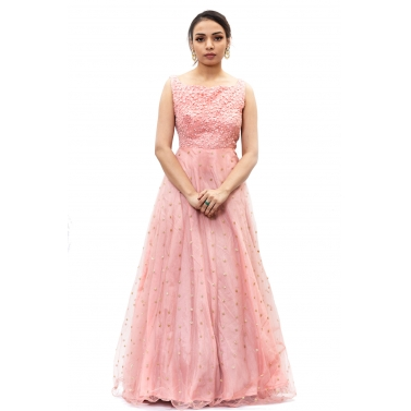 Pink-Embroidered-Long-Gown