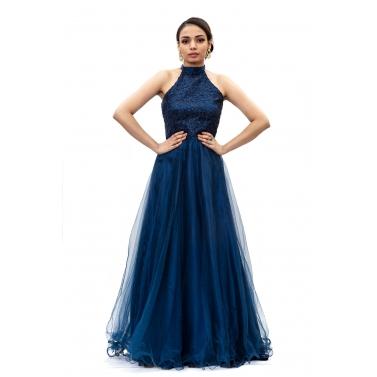 designer-womens-wear/dark-blue-halter-neck-long-gown