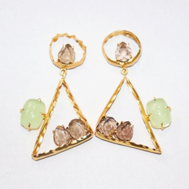 One Out Two In Whimsical Earrings