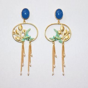 designer-womens-wear/honeydew-birds-of-paradise-earrings