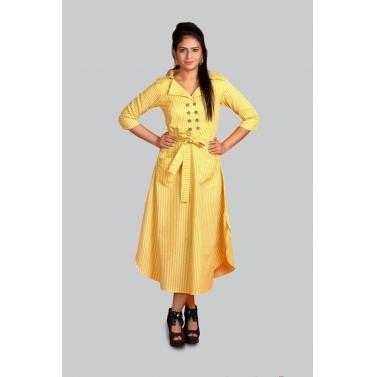 designer-womens-wear/yellow-belt-dress