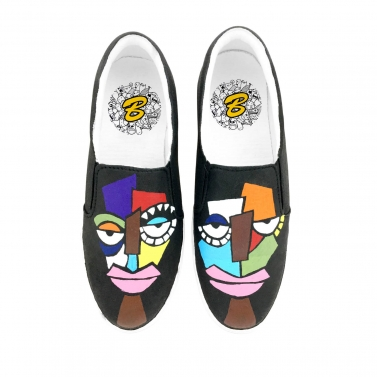 Tribal Design Canvas Shoe