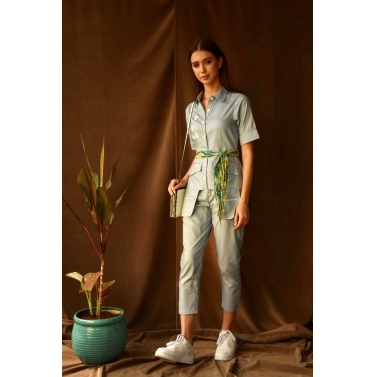 Cirset Belt Jumpsuit
