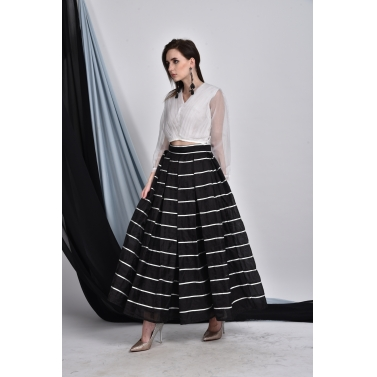 Organza Ribbon Skirt & Top