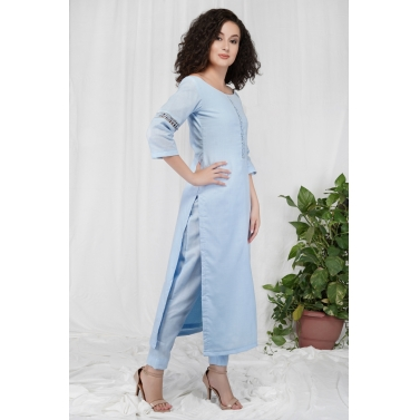 Dori Off Shoulder Kurta