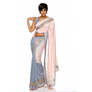 designer-womens-wear/light-pink-grey-sequins-sari