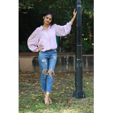 Sheer Lilac Shirt