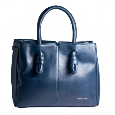 Sunday Knot Handbag - Blue