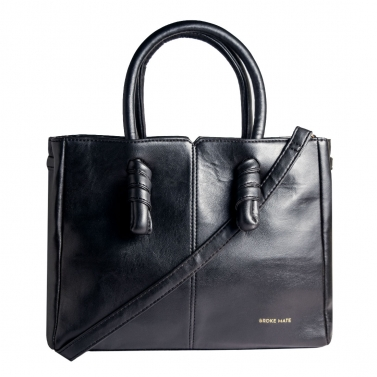 Sunday Knot Handbag - Black