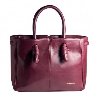 Sunday Knot Handbag - Maroon