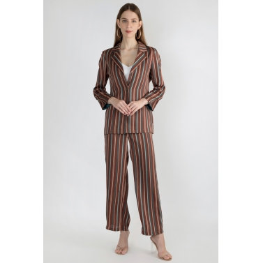 Striped Pantsuit