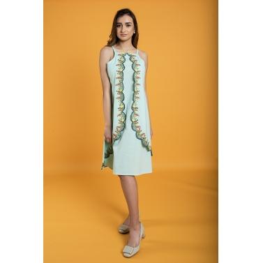 Japanese Garden Tunic Dress