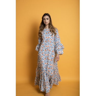 Ecstatic Floral Maxi Dress1