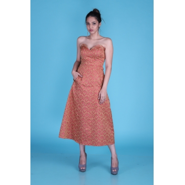 designer-womens-wear/brocade-tube-dress