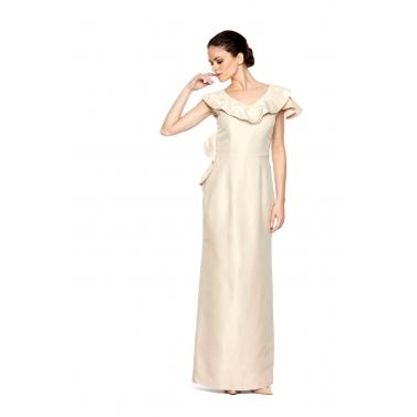 Tissue Long Dress