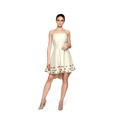 Tissue High Low Dress