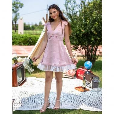 Rose Pink Mini Barbie Dress