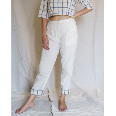 Marine Straight Pants