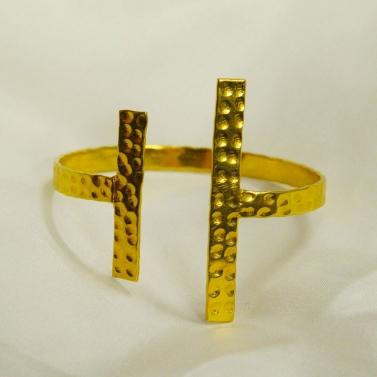 Antique Gold Handcuff